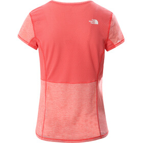 The North Face Circadian Tee Women, horizon red heather